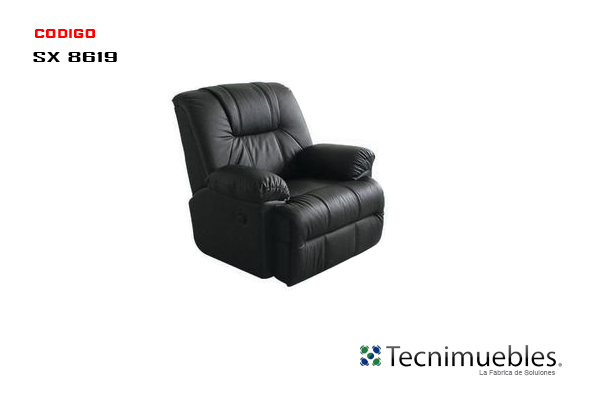 Sillon Reclinable Negro