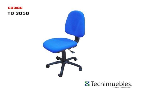 Silla Secretarial Reclinables