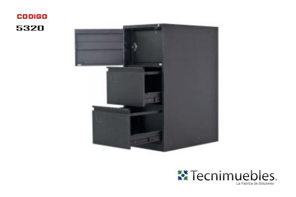 Archivo de Metal con Caja de Seguridad